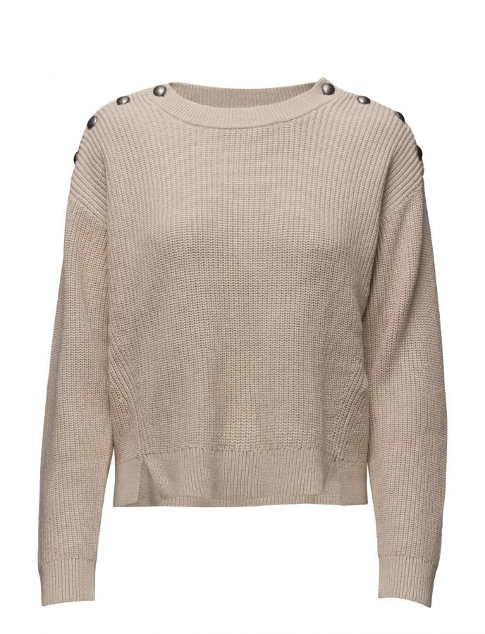 filippa k button rib pullover