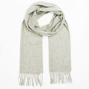 Filippa K Cashmere Scarf Light Grey Melange