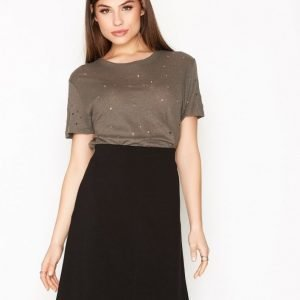 Filippa K Clean Jersey Skirt Minihame Black