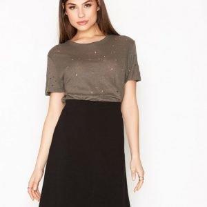 Filippa K Clean Jersey Skirt Minihame Black