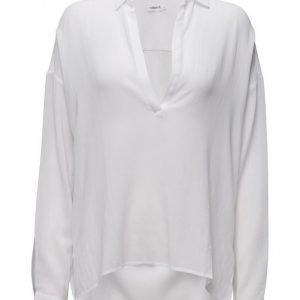 Filippa K Cotton Crepe Summer Shirt pitkähihainen paita