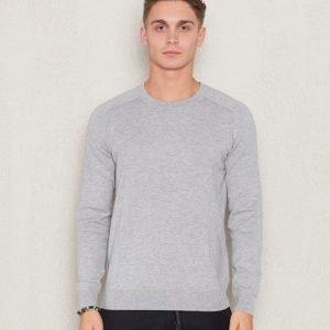 Filippa K Cotton Merinon Sweater Light Grey