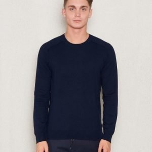 Filippa K Cotton Merinon Sweater Navy