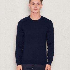 Filippa K Cotton Merinon Sweater Navy