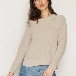 Filippa K Cotton Mix Slit Pullover Neulepusero Linen
