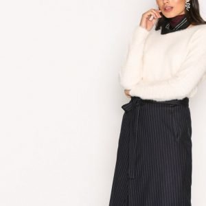 Filippa K Double Wrap Skirt Midihame Navy