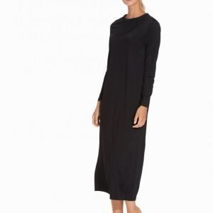 Filippa K Drape Jersey Dress Mekko Black