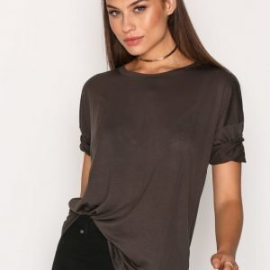 Filippa K Elbow Sleeve Swing Top T-Paita Hunter