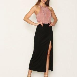 Filippa K Flowy Maxi Skirt Pitkä Hame Black