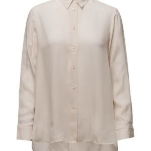Filippa K High-Low Tencel Shirt pitkähihainen paita