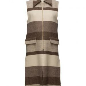 Filippa K Hollie Block Stripe Vest Coat villakangastakki
