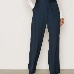 Filippa K Jessie Track Pants Housut Blue Graphite