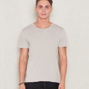 Filippa K Lt. Single Jersey Tee Chart Grey