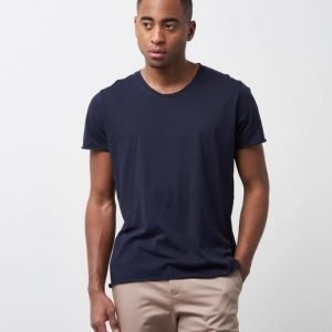 Filippa K Lt. Single Jersey Tee Navy