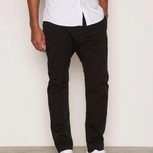 Filippa K M. Arek Cotton Pants Housut Black