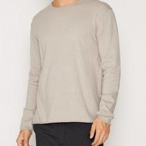 Filippa K M. Cotton Cashmere R-Neck Neulepusero Grey