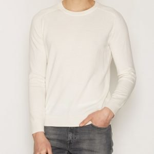 Filippa K M. Cotton Merino Sweater Neulepusero Ecru