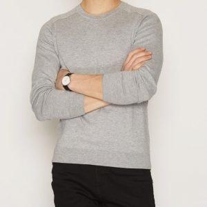 Filippa K M. Cotton Merino Sweater Neulepusero Light Grey
