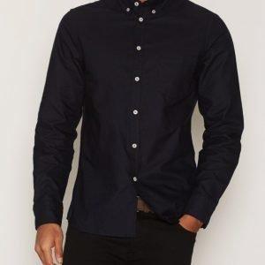 Filippa K M. Paul Oxford Shirt Kauluspaita Navy