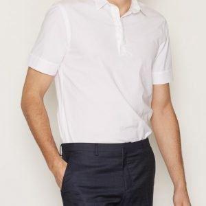 Filippa K M. Peter Poplin Polo Shirt Kauluspaita Valkoinen