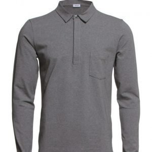 Filippa K M. Soft Lycra Poloshirt pitkähihainen pikeepaita