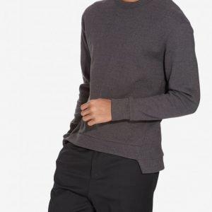 Filippa K M. Twotone Sweatshirt Pusero Dark Grey