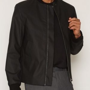 Filippa K M. Viktor Emblem Jacket Takki Black