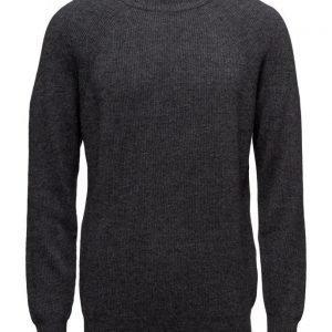 Filippa K M. Wool Linen Rib Sweater pyöreäaukkoinen neule
