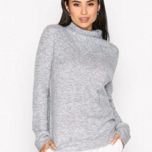 Filippa K Mohair Mock Neck Pullover Neulepusero Light Grey