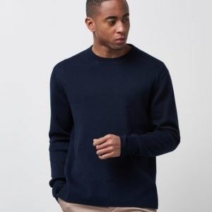 Filippa K Organic Cotton R-neck Navy