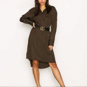 Filippa K Paige Shirt Dress Loose Fit Mekko Dark