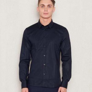 Filippa K Paul Stretch Shirt 2830 Navy