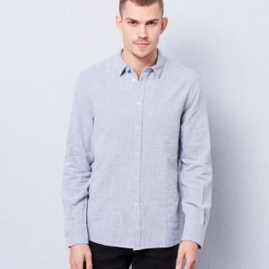 Filippa K Peter Voile Shirt Grey Melange