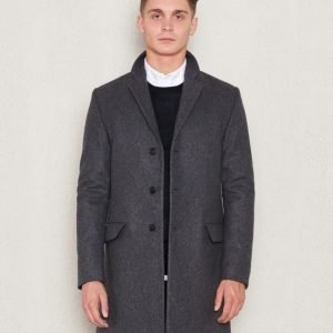 Filippa K Ralph Wool Coat Grey Melange