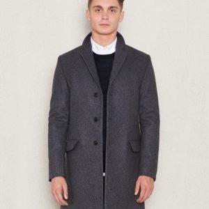 Filippa K Ralph Wool Coat Grey Melange