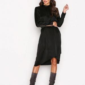 Filippa K Shiny Party Dress Kotelomekko Black