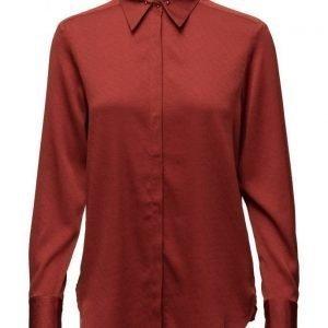 Filippa K Silk Stud Shirt pitkähihainen pusero