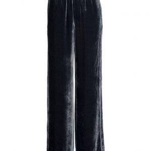 Filippa K Sporty Velvet Pants leveälahkeiset housut