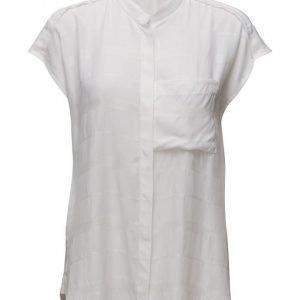 Filippa K Structure Stripe Shirt lyhythihainen pusero