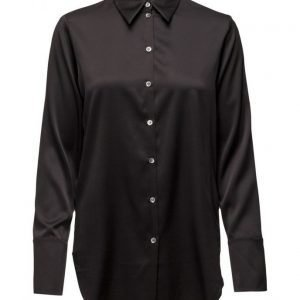 Filippa K Tailored Silk Shirt pitkähihainen pusero