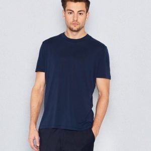 Filippa K Tencel Cotton Tee Navy