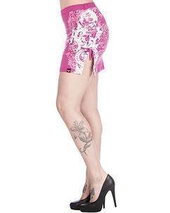 Floral Skirt Fuchsia