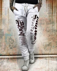 Fly Or Die Joggers White