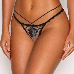 For Love & Lemons Florette Applique Thong Stringit Teal