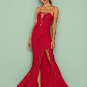 Forever Unique Alanis Dress Maksimekko Red