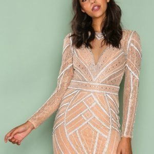 Forever Unique Tilly Dress Juhlamekko Champagne