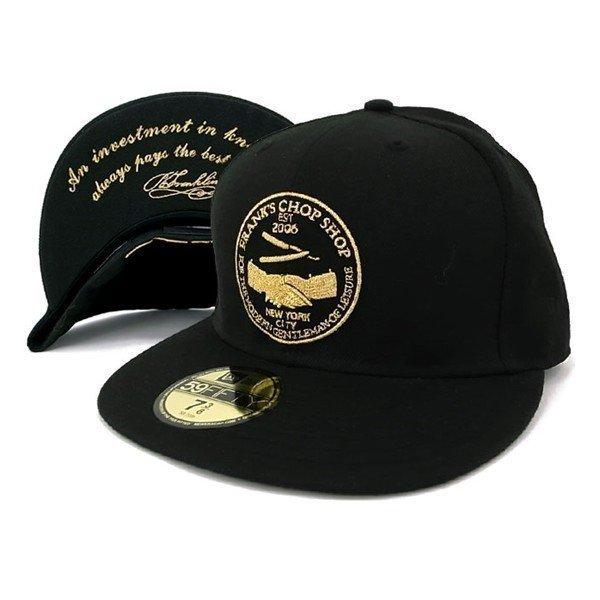Frank´s Chop Shop New Era Black/Gold 56.8cm