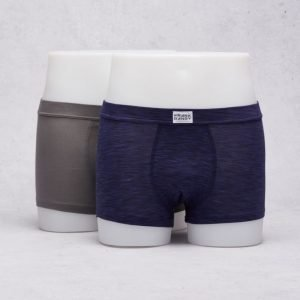 Frank Dandy 2-Pack Bamboo Trunks Charcoal Grey/Space Grey Navy