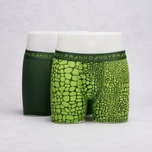 Frank Dandy 2-Pack Boxer Crocodile Green