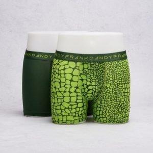 Frank Dandy 2-Pack Boxer Crocodile Green